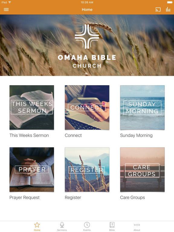 Omaha Bible Church screenshot 4