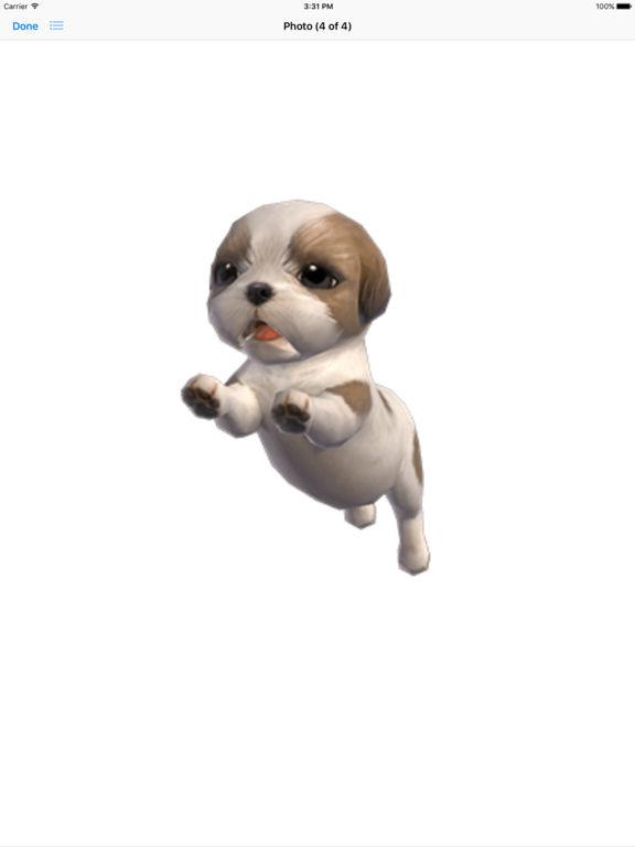 Shih Tzu - Animated Puppy Stickers screenshot 8