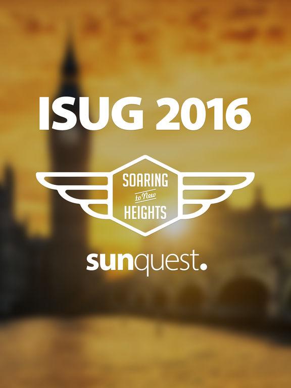 ISUG 2016 screenshot 4
