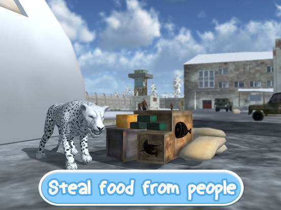 Wild Snow Leopard: Animal Simulator screenshot 8