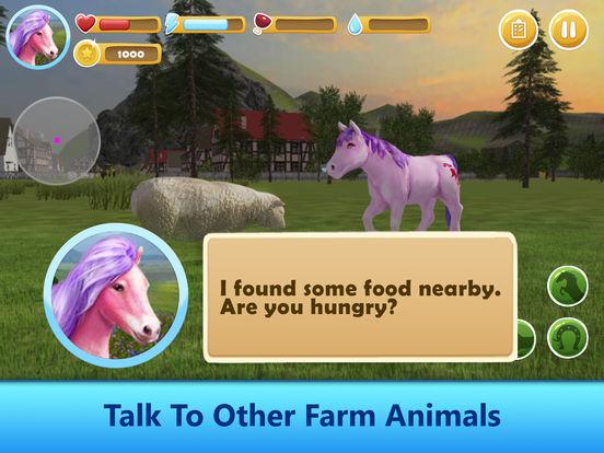 Farm Pony Simulator: Animal Quest 3D screenshot 8