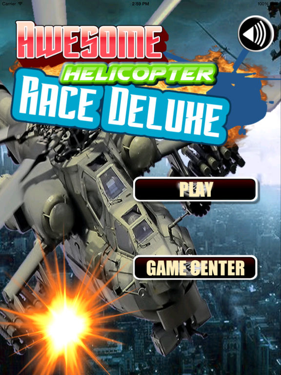 Awesome Helicopter Race Deluxe Pro - A Burst Of Adrenaline And Speed screenshot 6
