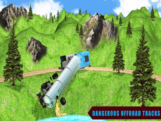 Cargo Oil 3D Truck Drive screenshot 6