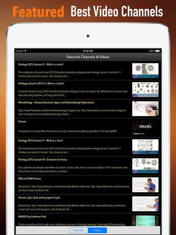 Viruses Glossary and Cheatsheet:Study Guide screenshot 8