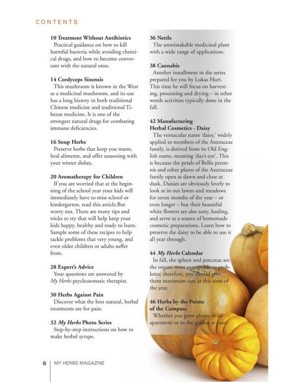 My Herbs Magazine screenshot 7