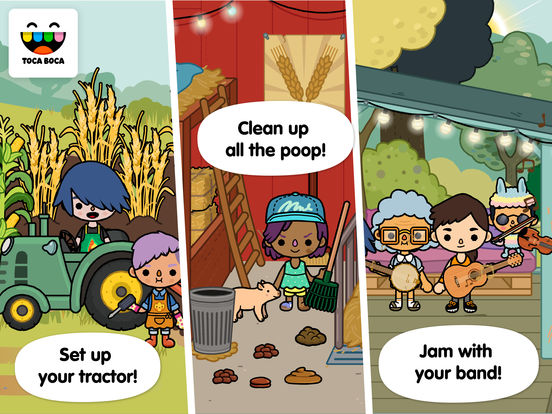 Toca Life: Farm screenshot #2
