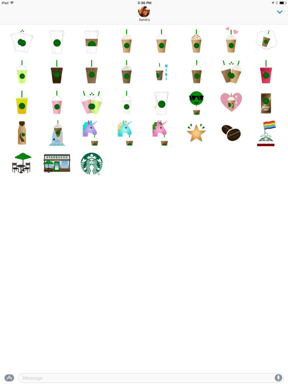 Starbucks Stickers screenshot 4