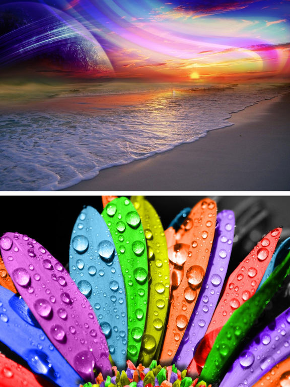 Rainbow Wallpapers - Beautiful Rainbow HD Pictures screenshot 8