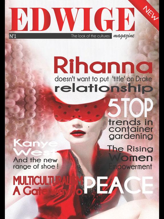 Edwige Magazine screenshot 6