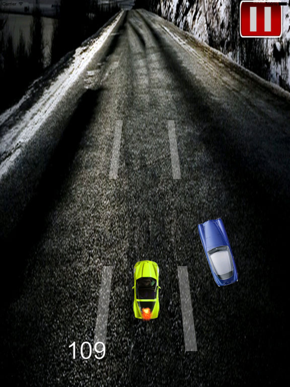 A Speed Endless To White Car - A Hypnotic Game Of Driving screenshot 7