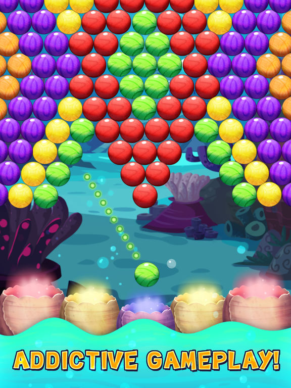 Bubble Shooter Underwater World screenshot 10