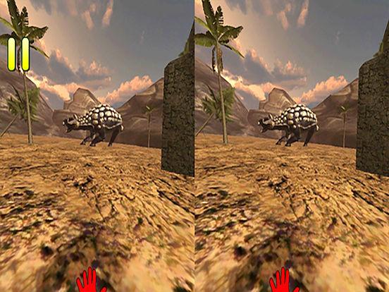 VR Jurassic Land Tour Cardboard Game screenshot 7