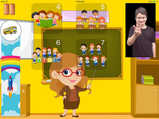 Kids4Sign Numbers screenshot 8