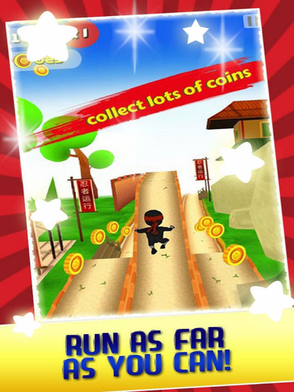 Train Ninja Adventure 3D screenshot 5