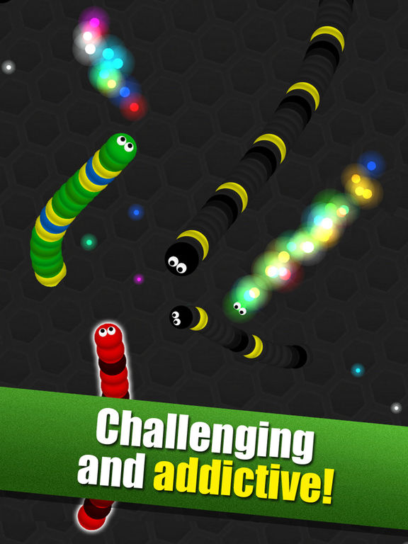 Crazy Wiggle.Io - Glowing Slither Unlocked Version screenshot 8