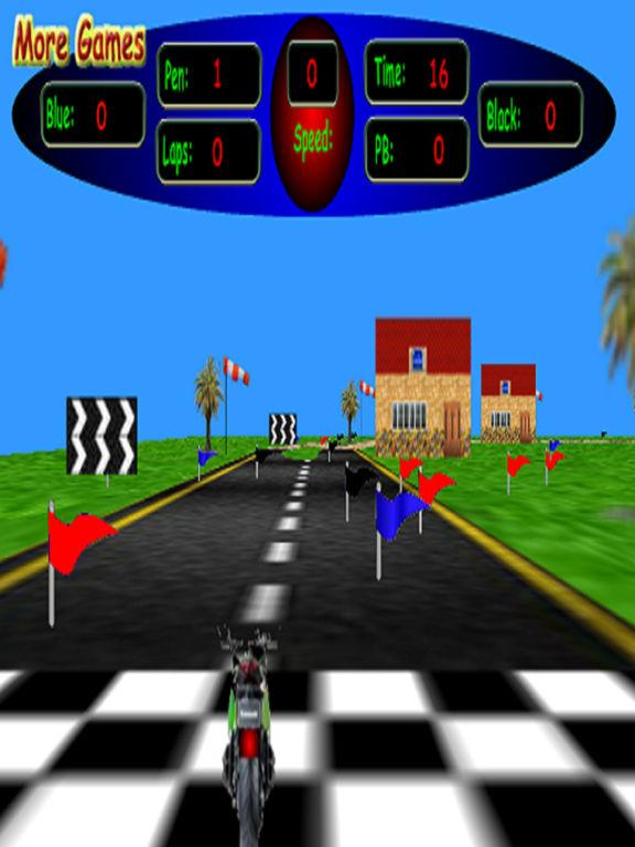 3D Motorbike Racing screenshot 3