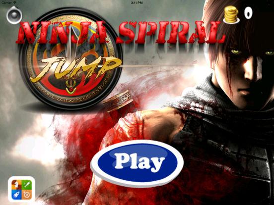 A Ninja Spiral Jump - Amazing Jumping Mobile Game screenshot 6