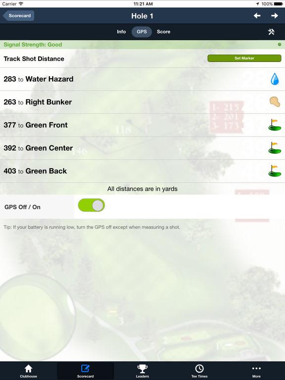Hunter's Creek Golf & CC screenshot 9