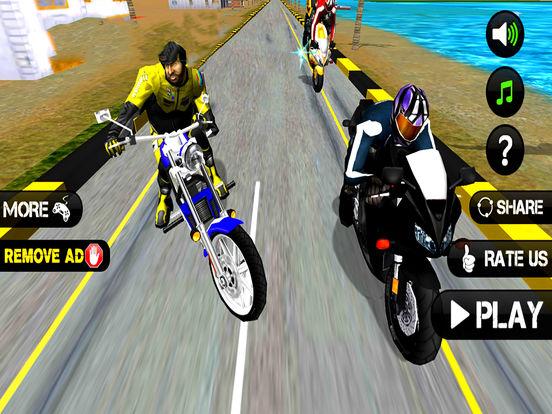 Heavy Bike Rider : 3D Fighting Game screenshot 5