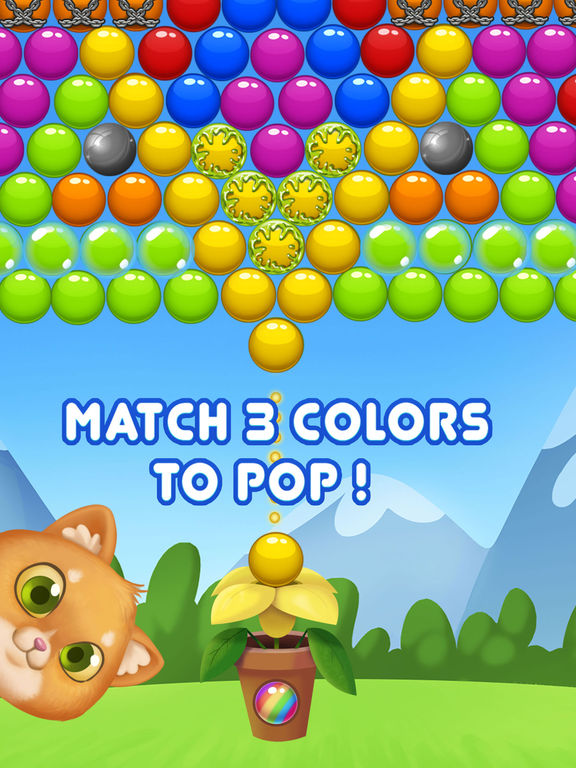 Bubble Shooter! Cat screenshot 9