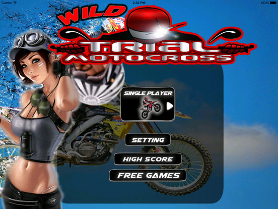 A Wild Trial Motocross Pro - Xtreme Downhill Bike screenshot 6