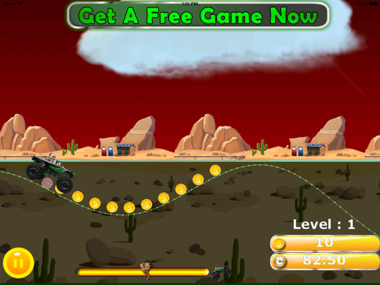 A Furious Monster Truck Pro - Car War Amazing Game screenshot 8