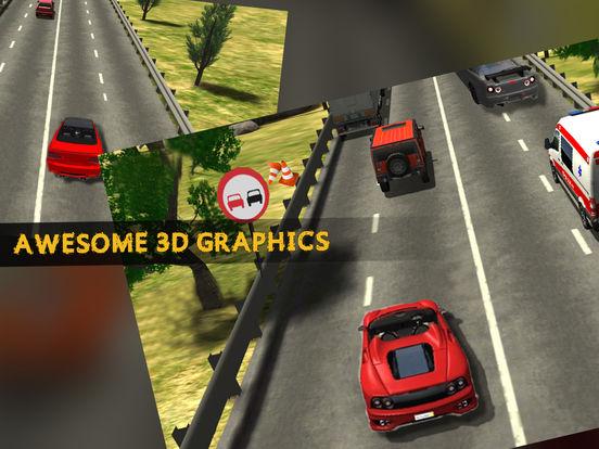 City Highway Racer Car Fast Traffic - Real Games screenshot 8