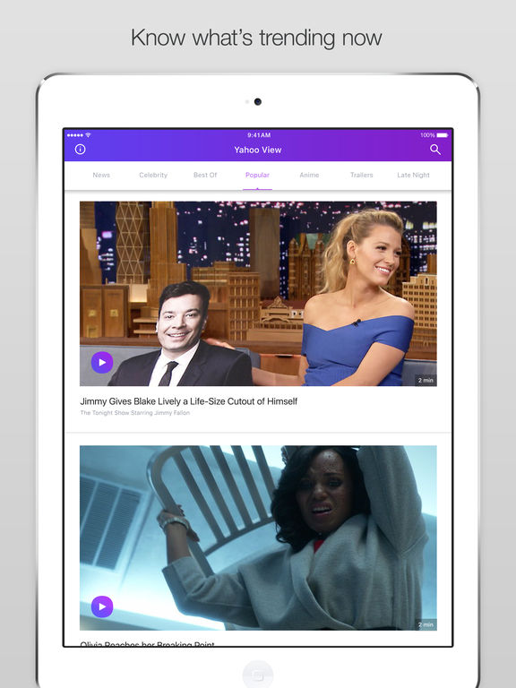 Yahoo View screenshot 6