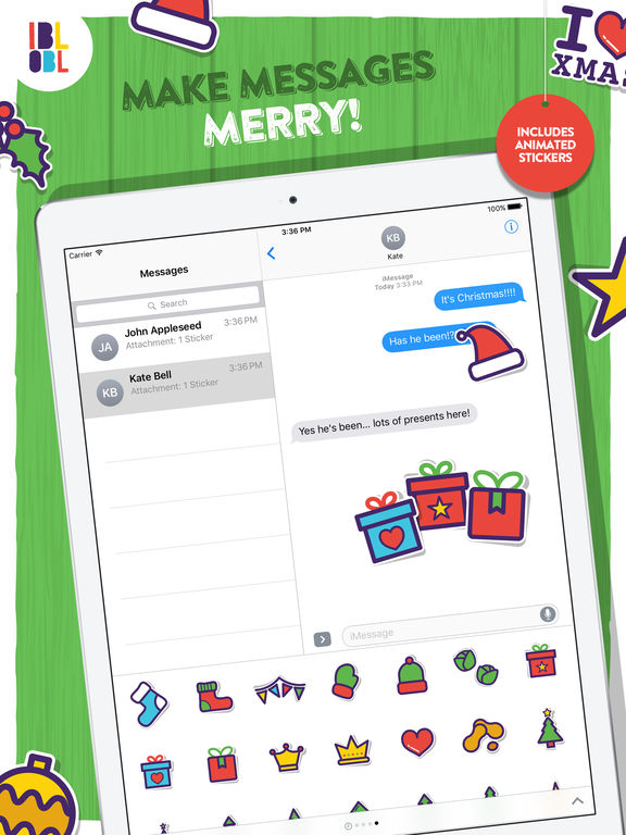 Ibbleobble Christmas Stickers screenshot 5