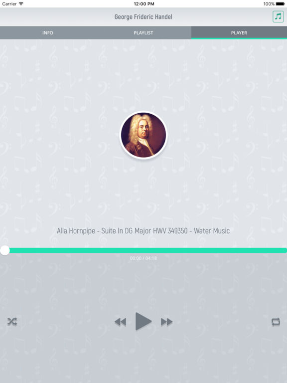 George Handel - Classical Music screenshot 8