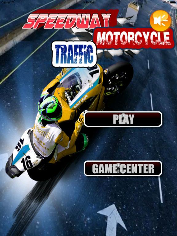 Speedway Motorcycle Traffic Pro - Incredible Motorcycle Racing Game screenshot 6