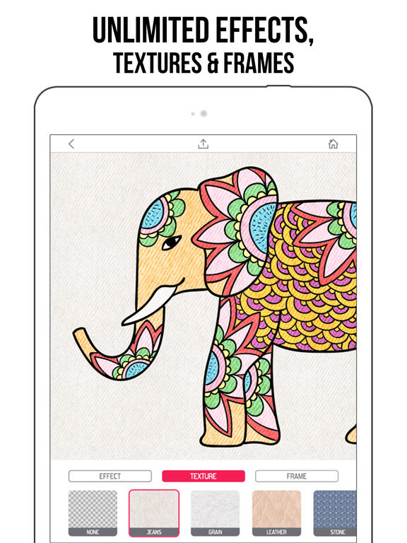 Fancy Coloring Books for Adults - Color book Apps screenshot 9