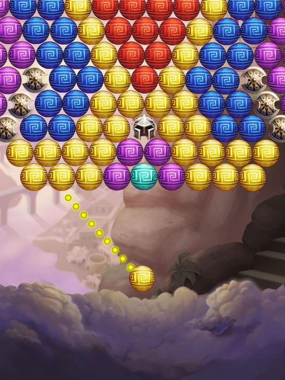 Hercules Pop Bubble Shooter screenshot 9