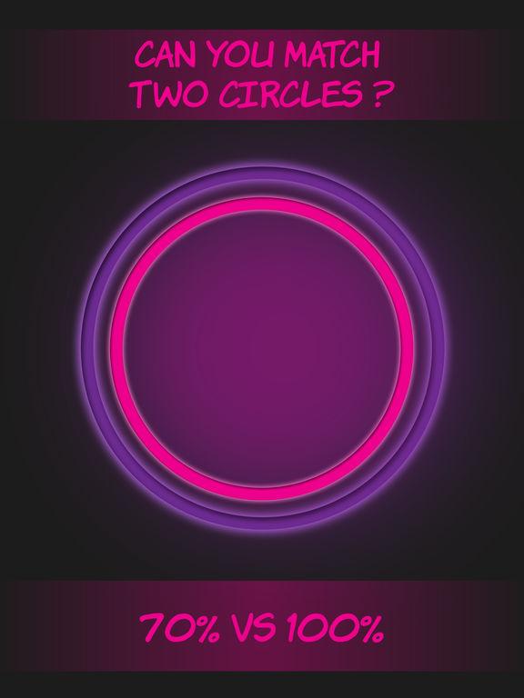 Pink circle shape to shape screenshot 4
