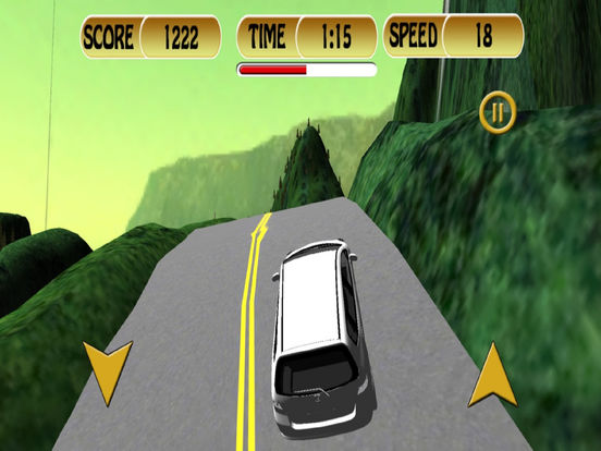 Off-Road Mountain Car : 3D Simulation Game Mania screenshot 5