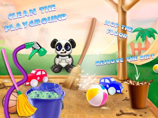 Cute Panda Village - Fashion, Care & Clean Up screenshot 8