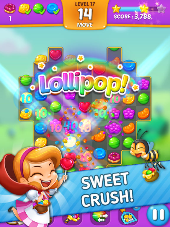 Lollipop: Sweet Taste Match3 screenshot 7