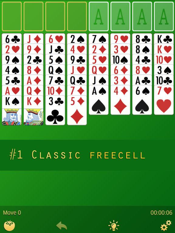 FreеCell screenshot 4