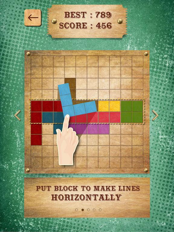 Retro Block Puzzle Game screenshot 9