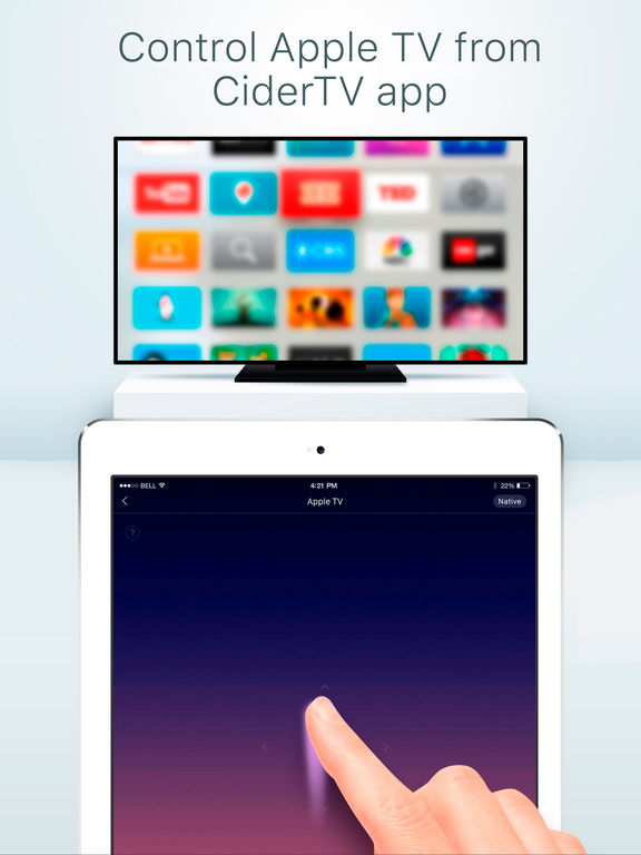 control apple tv with iphone app shopper cidertv free the best remote app replacement 16825
