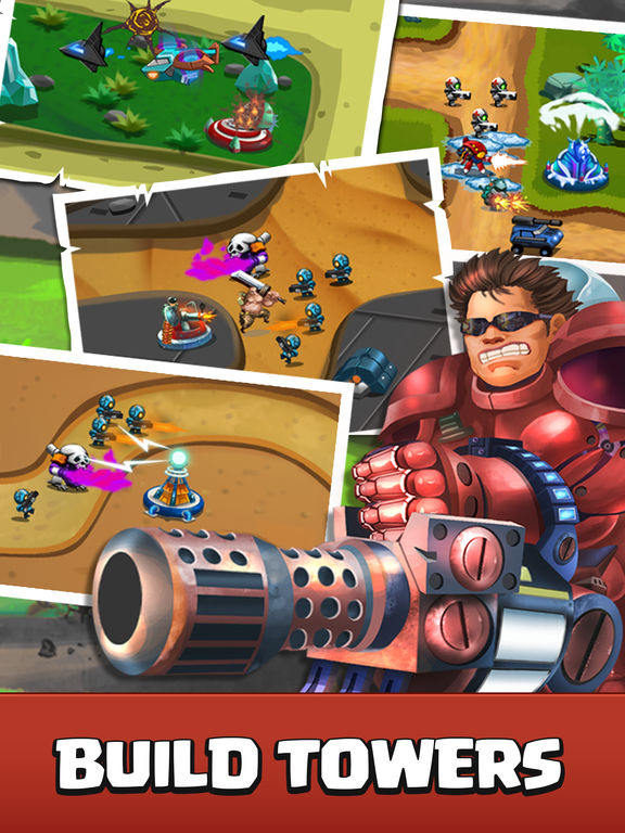 Castle Strategy TD - Defense Ancient Galaxy Hero screenshot 7
