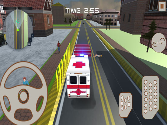 Ambulance Rescue : 3D Simulation Game 2016 screenshot 8