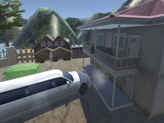 Off-Road Limousine Simulation : Crazy ride on hill screenshot 7