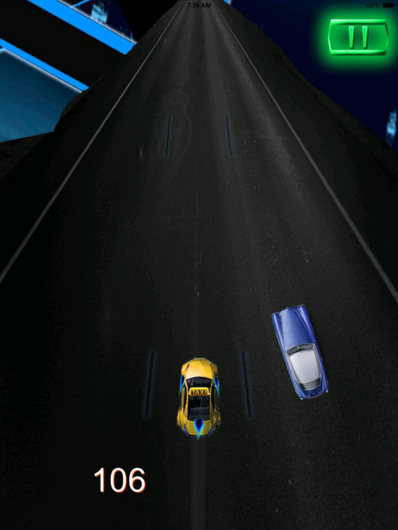 A Crazy Parking - A Vegas Taxi Race screenshot 10