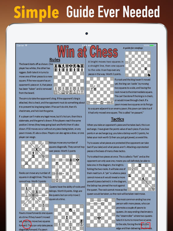 Chess for Beginners-Tutorial and Tips screenshot 6