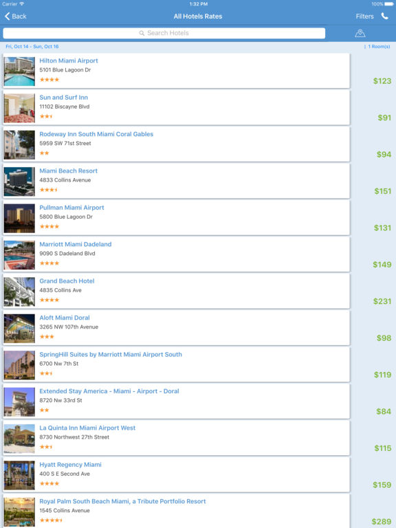 i4miami - Miami Hotels & Yellow Pages Directory screenshot 8