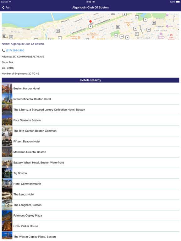 i4boston - Boston Hotels & Yellow Pages Directory screenshot 9