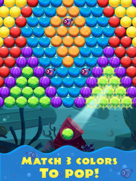 Bubble Shooter Sea screenshot 7
