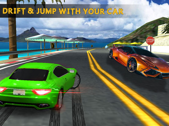 City Highway Racer Car Fast Traffic - Real Games screenshot 9