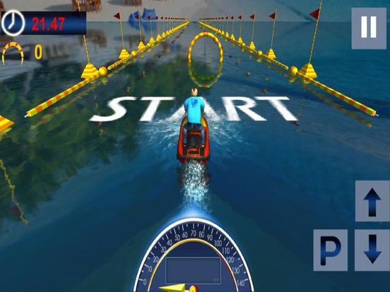 Drive Boat Simulator : Racing Stunt Mania screenshot 4